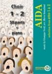 AIDA - Atto 1 & 2 (Doppel SATB chor set)