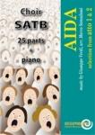 AIDA - Atto 1 & 2 (SATB chor set)